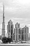 Skyline de Dubai, UAE Fotos de Stock Royalty Free