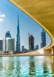 Skyline de Dubai, UAE Fotos de Stock Royalty Free