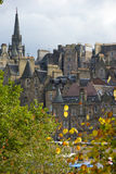 Skyline de Edimburgo Fotos de Stock Royalty Free
