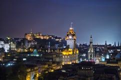 Skyline de Edimburgo Foto de Stock Royalty Free