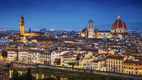Skyline de Florença Fotos de Stock