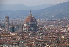 Skyline de Florença imagens de stock