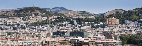 Skyline de Granada Imagens de Stock