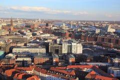 Skyline de Hamburgo Imagens de Stock Royalty Free