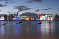Skyline de Hangzhou fotografia de stock royalty free