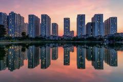 Skyline de Hanoi Imagens de Stock Royalty Free