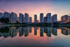 Skyline de Hanoi Fotografia de Stock