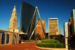 Skyline de Hartford Imagem de Stock