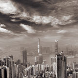 Skyline de Hong Kong Fotos de Stock Royalty Free