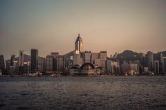 Skyline de Hong Kong Foto de Stock