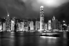 Skyline de Hong Kong Fotos de Stock Royalty Free