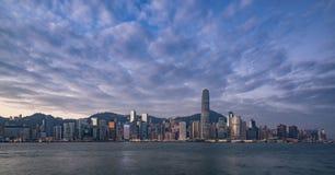 Skyline de Hong Kong Foto de Stock Royalty Free