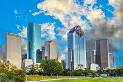 Skyline de Houston, Texas fotografia de stock
