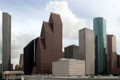 Skyline de Houston Texas Fotos de Stock Royalty Free
