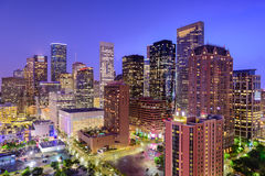 Skyline de Houston Texas Foto de Stock