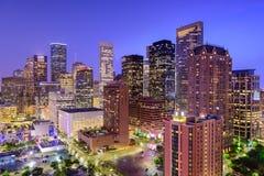 Skyline de Houston Texas foto de stock