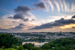 Skyline de hsinchu Imagens de Stock Royalty Free