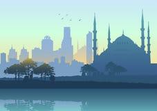 Skyline de Istambul Imagem de Stock Royalty Free