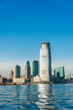 Skyline de Jersey City Fotografia de Stock Royalty Free