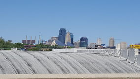 Skyline de Kansas City Foto de Stock Royalty Free