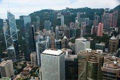 Skyline de Kong do Honk imagem de stock royalty free
