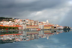 Skyline de Lisboa Imagem de Stock Royalty Free