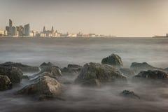 Skyline de Liverpool Foto de Stock