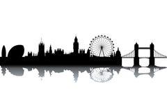 Skyline de Londres ilustração do vetor