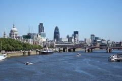 Skyline de Londres Fotos de Stock