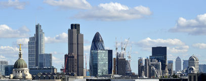 Skyline de Londres Foto de Stock Royalty Free