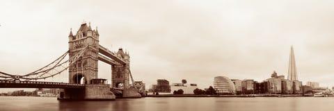 Skyline de Londres fotografia de stock