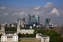 Skyline de Londres Imagem de Stock Royalty Free