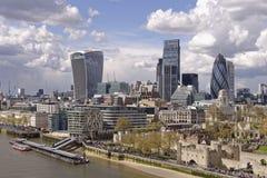 Skyline de Londres imagens de stock