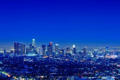 Skyline de Los Angeles Fotos de Stock Royalty Free