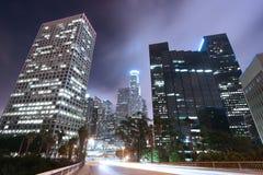 Skyline de Los Angeles Imagem de Stock