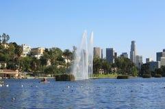 Skyline de Los Angeles Foto de Stock Royalty Free