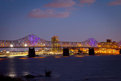 Skyline de Louisville Foto de Stock