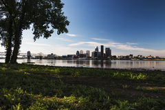 Skyline de Louisville Fotografia de Stock Royalty Free