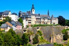 Skyline de Luxembourg Imagens de Stock Royalty Free