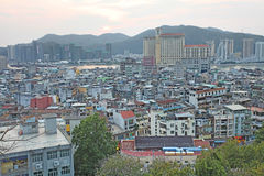 Skyline de Macau Fotografia de Stock Royalty Free