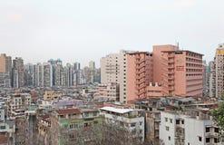 Skyline de Macau Foto de Stock Royalty Free