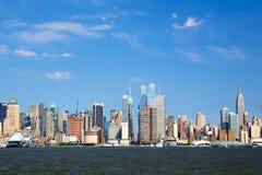 Skyline de Manhattan Foto de Stock Royalty Free