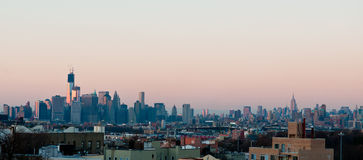 Skyline de Manhattan Foto de Stock