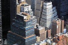 Skyline de Manhattan Fotos de Stock Royalty Free