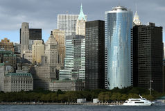 Skyline de Manhattan Foto de Stock
