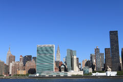 Skyline de Manhattan, New York City Fotos de Stock Royalty Free