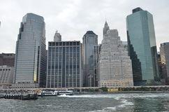 Skyline de Manhattan, New York City imagem de stock royalty free