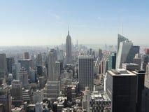 Skyline de Manhattan - New York City Imagens de Stock