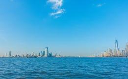Skyline de Manhattan, New York City EUA Imagem de Stock