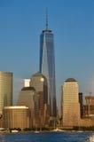 Skyline de Manhattan, NYC Foto de Stock